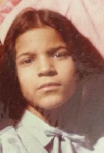 There's something about the expression on my face that I can't quite describe but can definitely feel. Right in the middle of my heart. Like a clenched fist. (circa 1983, Bushwick, Brooklyn, age 7)