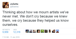 how we grieve artists