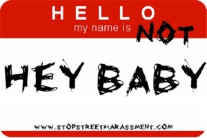 stop street harassment baby