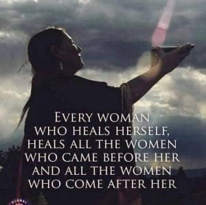 woman who heals