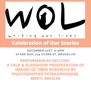 WOL Celebration of our stories Meryl